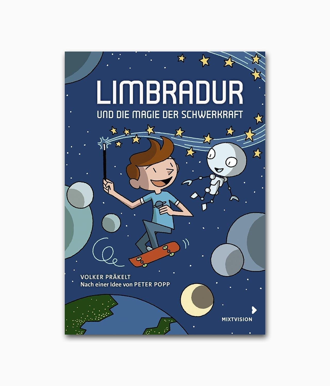Limbradur und die Magie der Schwerkraft Mixtvision Verlag Buchcover