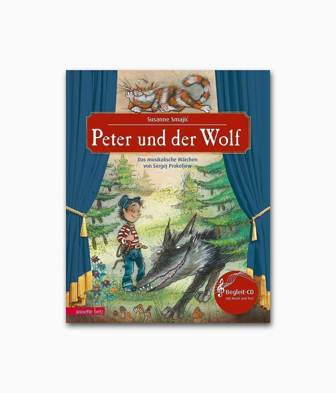 Peter und der Wolf Annette Betz Buchcover
