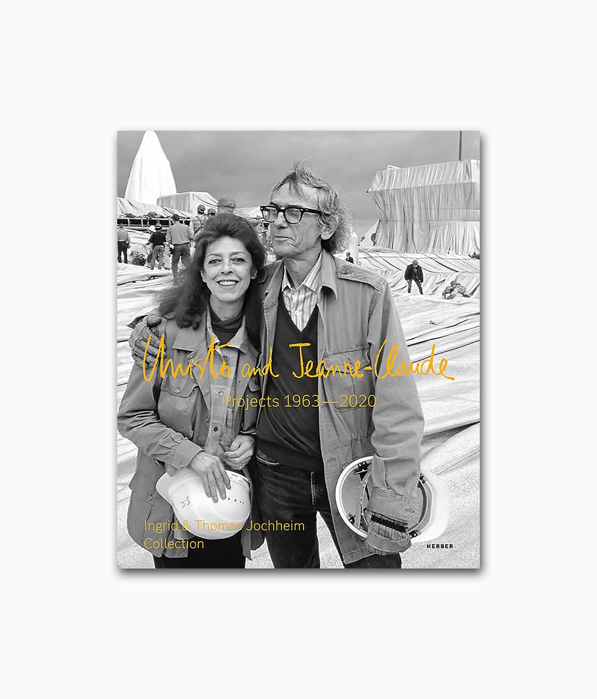 Buchcover vom Kunstbuch über die berühmten Künstler Christo and Jeanne-Claude Kerber Verlag