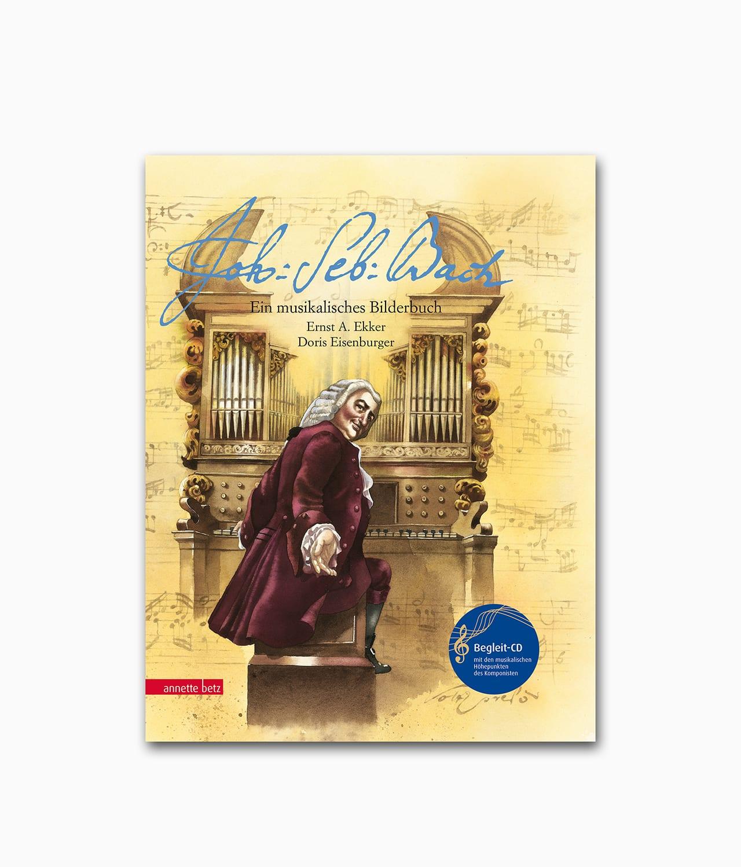 Johann Sebastian Bach Annette Betz Verlag Buchcover