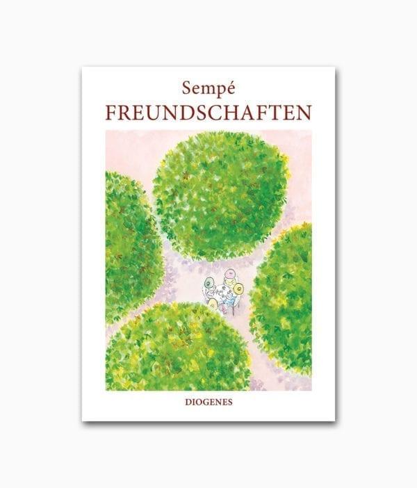 Sempé Freundschaften Diogenes Verlag Buchcover