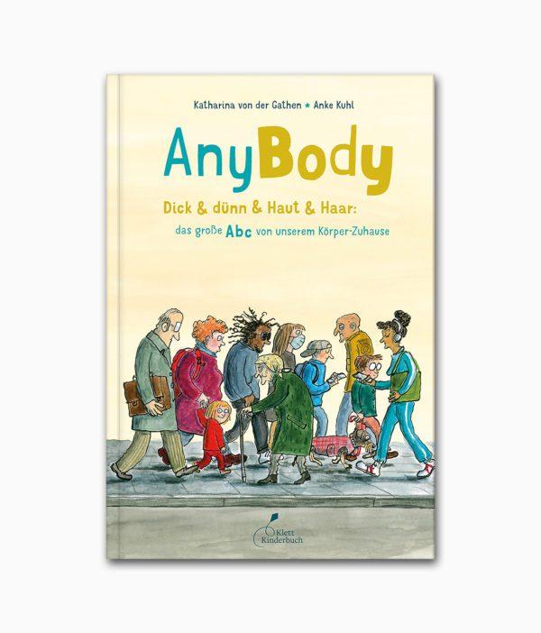 AnyBody Klett Verlag Buchcover