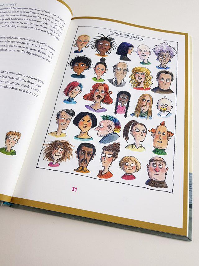 AnyBody Klett Verlag aufgeschlagenes Kinderbuch