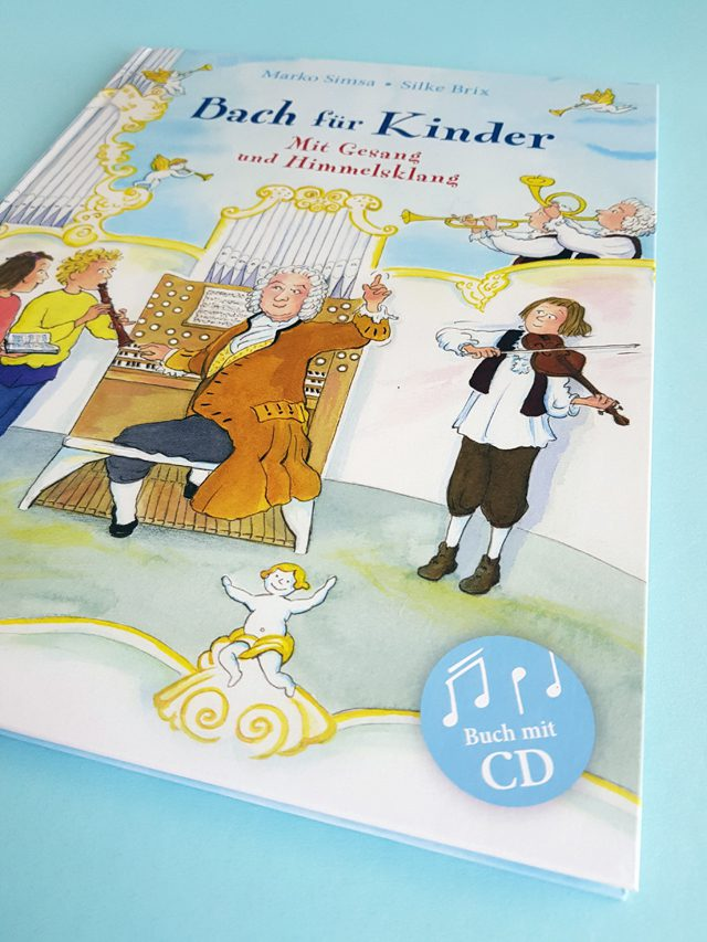 Bach für Kinder Jumbo Verlag Buchcover