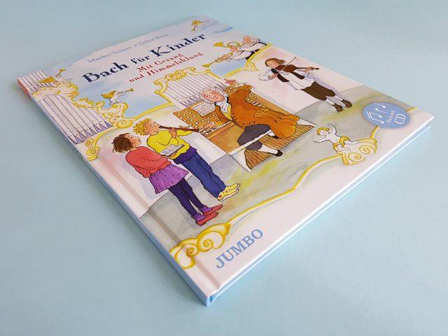 Bach für Kinder Jumbo Verlag Buchcover liegend