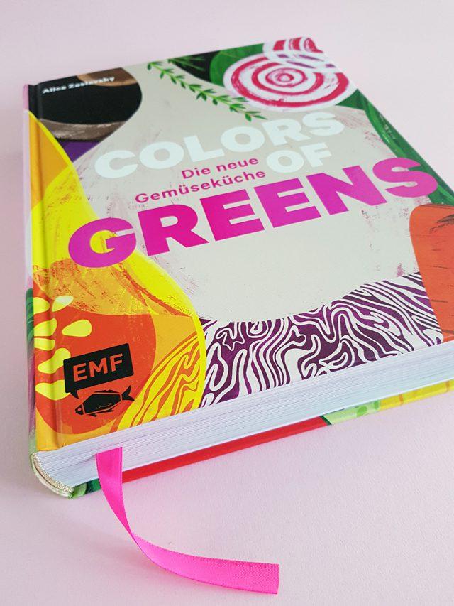 Colors of Greens Die neue Gemüseküche EMF Verlag Buchcover