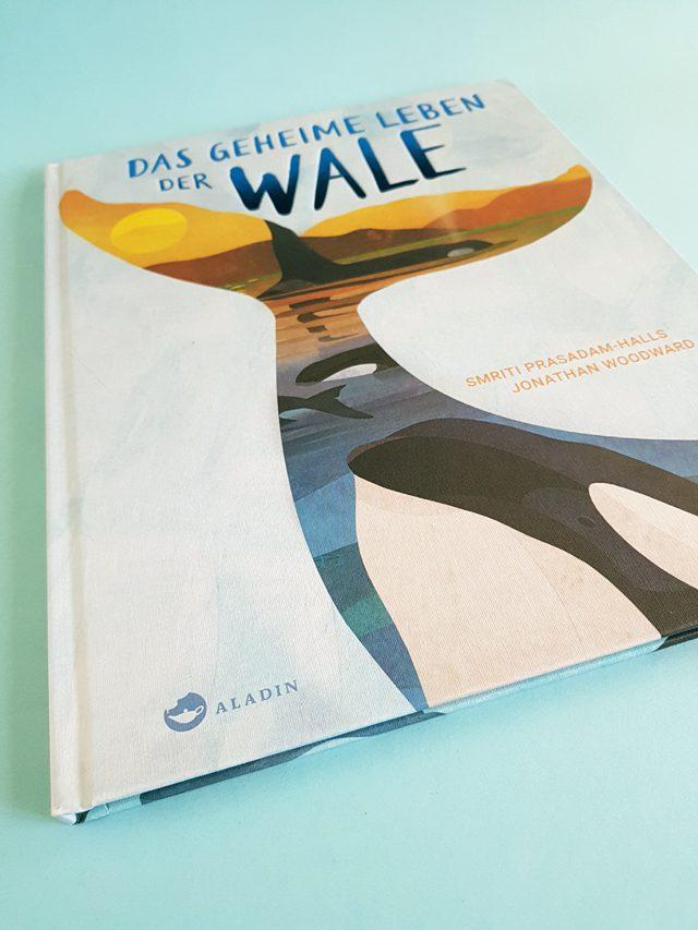 Das geheime Leben der Wale Aladin Verlag Buchcover