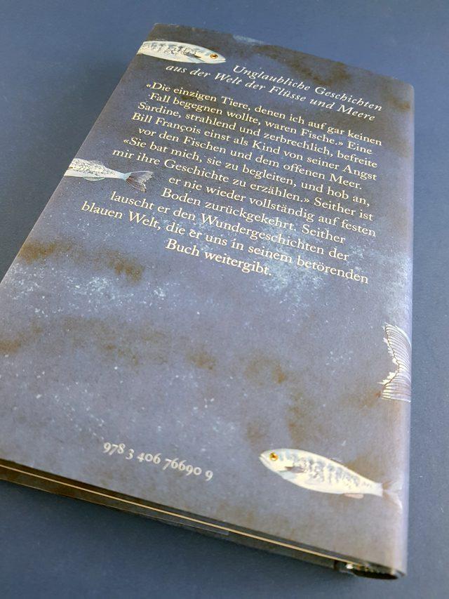 Die Eloquenz der Sardine C.H.Beck Buchrückseite