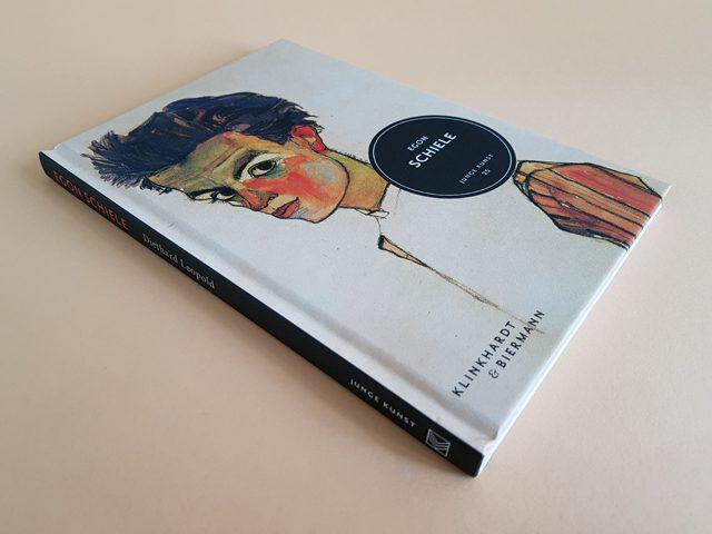 Egon Schiele Junge Kunst 25 Klinkhardt und Biermann Verlag Buchcover liegend