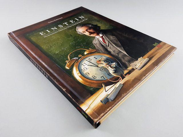 Einstein NordSüd Verlag Buchcover liegend
