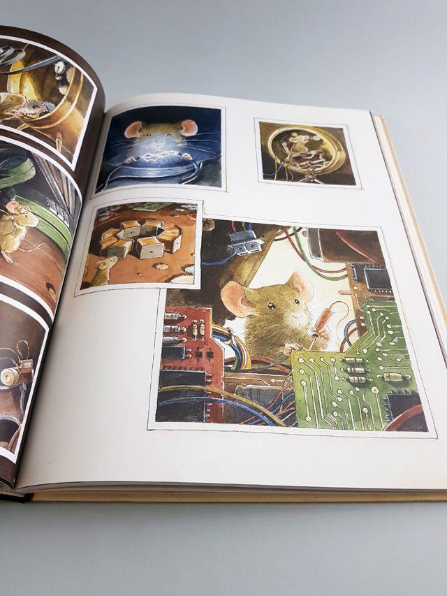 Einstein NordSüd Verlag aufgeschlagenes Kinderbuch