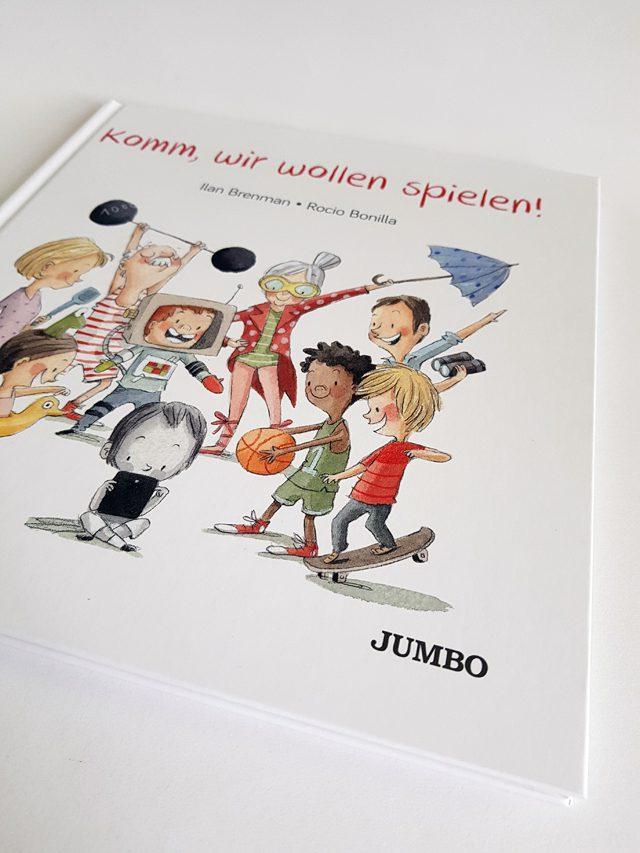 Komm wir wollen spielen Jumbo Verlag Buchcover