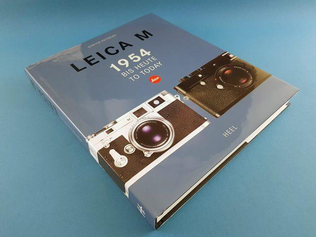 Leica M 1954 bis heute Heel Verlag Buchcover liegend