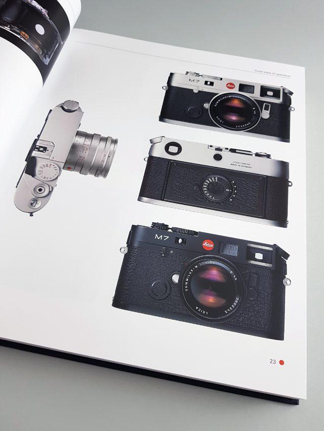 Leica M 1954 bis heute Heel Verlag aufgeschlagener Bildband