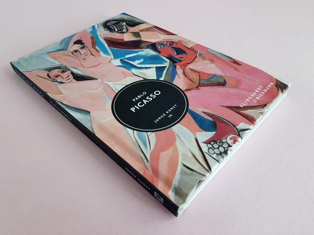 Pablo Picasso Junge Kunst Klinkhardt & Biermann Verlag Buchcover liegend