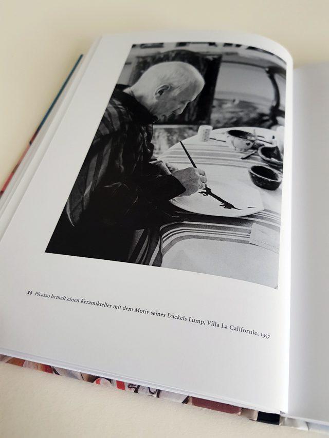 Pablo Picasso Junge Kunst Klinkhardt & Biermann Verlag aufgeschlagener Bildband