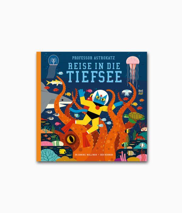Professor Astrokatz Reise in die Tiefsee NordSüd Verlag Buchcover