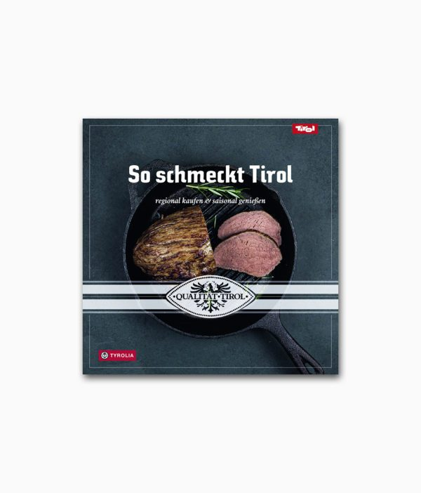 So schmeckt Tirol Tyrolia Verlag Buchcover