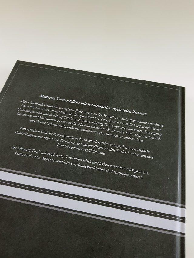 So schmeckt Tirol Tyrolia Verlag Buchrückseite