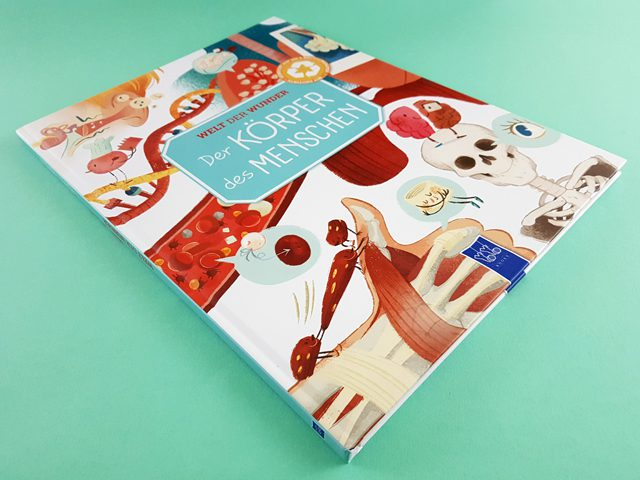 Welt der Wunder Der Körper des Menschen YoYo Books Buchcover liegend
