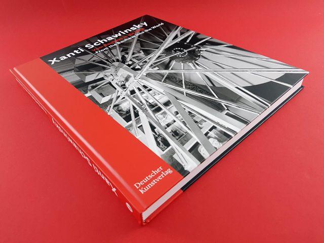 Xanti Schawinsky Vom Bauhaus in die Welt Deutscher Kunstverlag Buchcover liegend