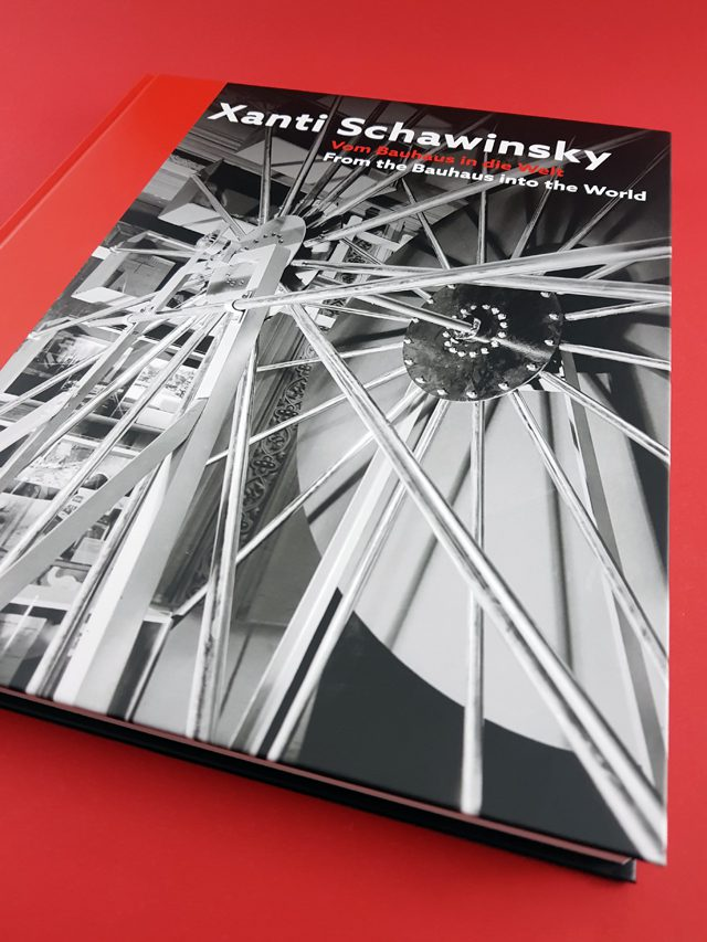Xanti Schawinsky Vom Bauhaus in die Welt Deutscher Kunstverlag Buchcover
