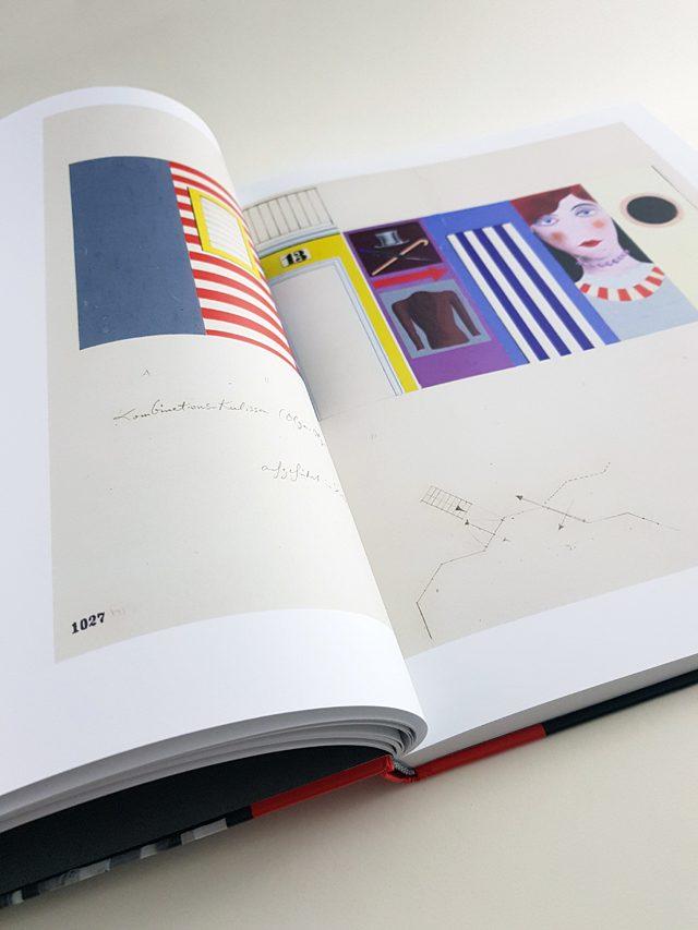 Xanti Schawinsky Vom Bauhaus in die Welt Deutscher Kunstverlag aufgeschlagener Bildband