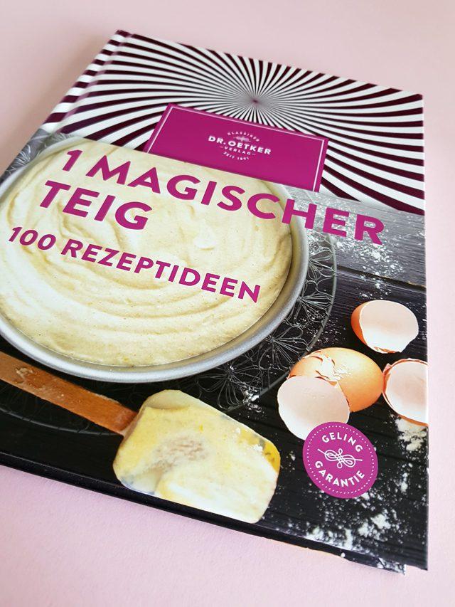 1 magischer Teig 100 Rezeptideen Dr. Oetker Verlag Buchcover