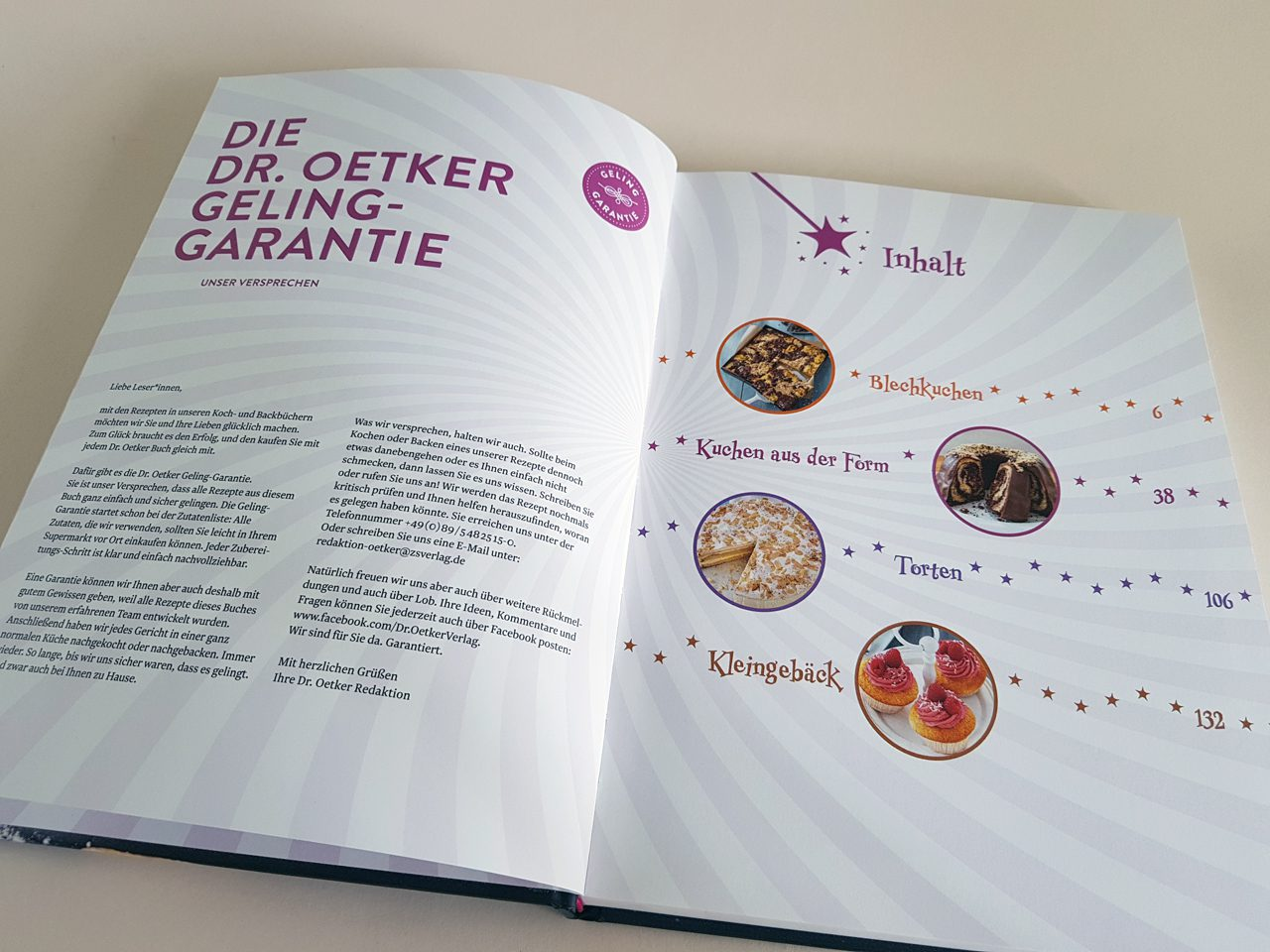 1 magischer Teig 100 Rezeptideen Dr. Oetker Verlag Inhaltsverzeichnis