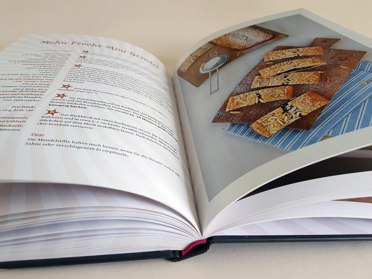 1 magischer Teig 100 Rezeptideen Dr. Oetker Verlag aufgeschlagenes Backbuch
