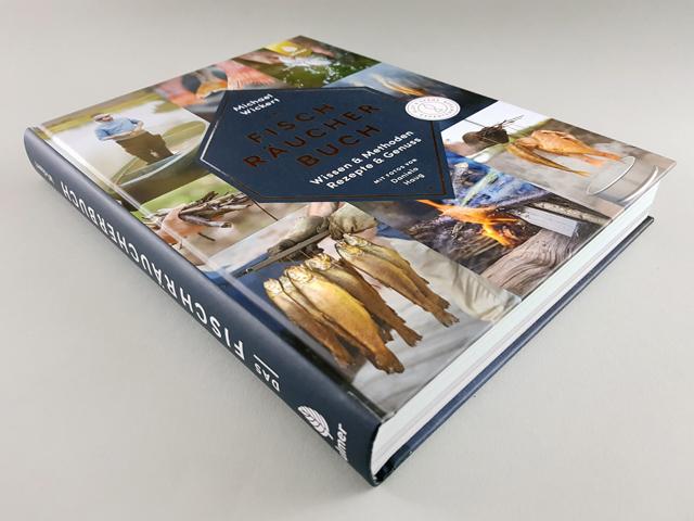 Das Fischräucherbuch Ulmer Verlag Buchcover liegend
