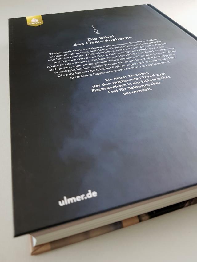 Das Fischräucherbuch Ulmer Verlag Buchrückseite