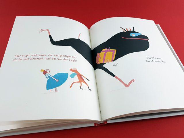 Du, was machst du gerade Aladin Verlag aufgeschlagenes Kinderbuch