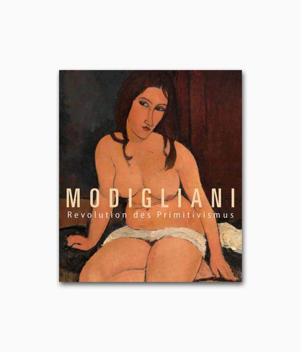 Modigliani Revolution des Primitivismus Hirmer Verlag Buchcover