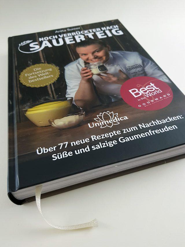 Noch verrückter nach Sauerteig Unimedica Verlag Buchcover