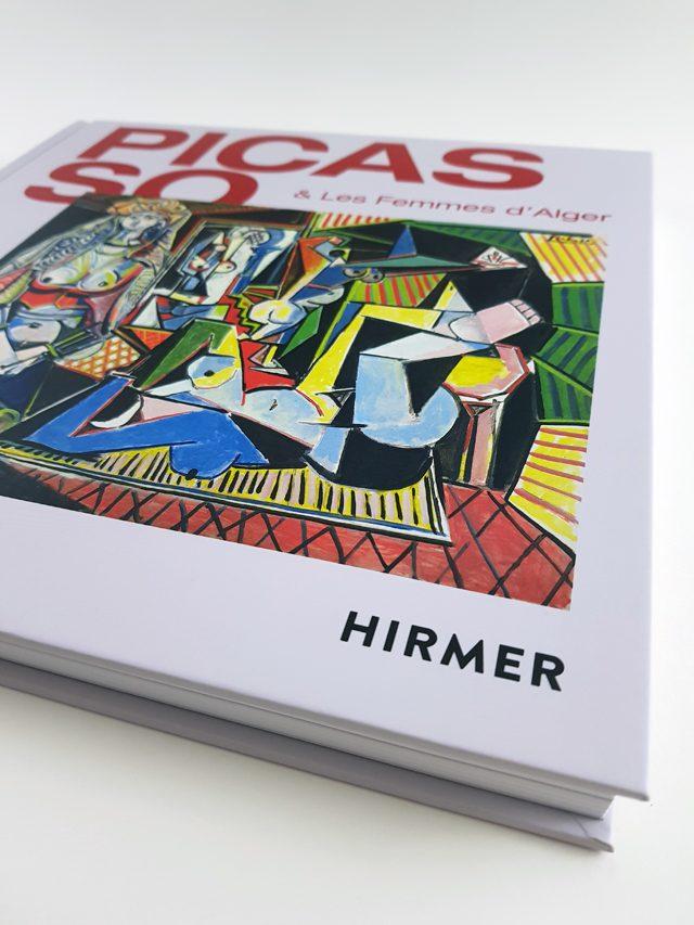 Picasso & Les Femmes D'Alger Hirmer Verlag Buchcover