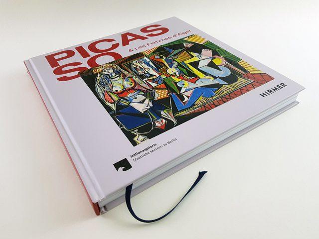 Picasso & Les Femmes D'Alger Hirmer Verlag Buchcover liegend